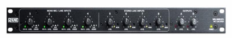 MLM82S | Mic and Line Mixer