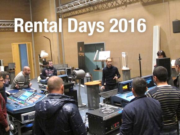 Rental Days 2016