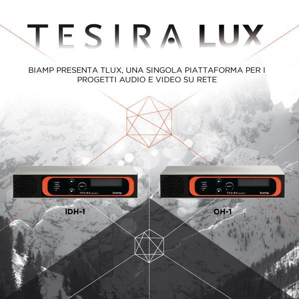 Biamp Tesira LUX