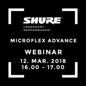 Webinar Microflex Advance
