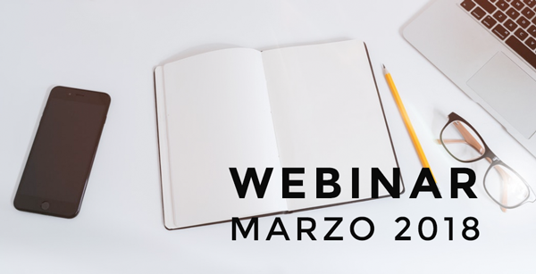 Webinar Marzo 2018