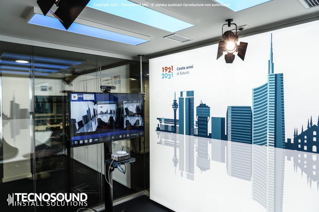 Hub di live streaming e videoconferenza   realizzato da Tecnosound