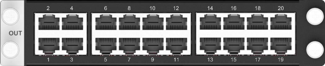 Absen H 20 RJ45 OUT