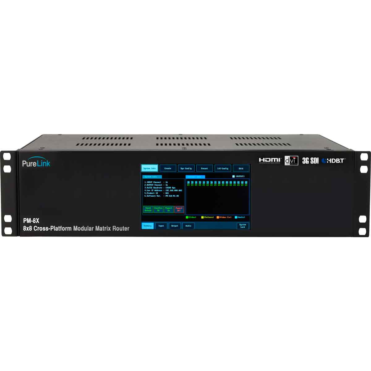Pure link PM-8X
