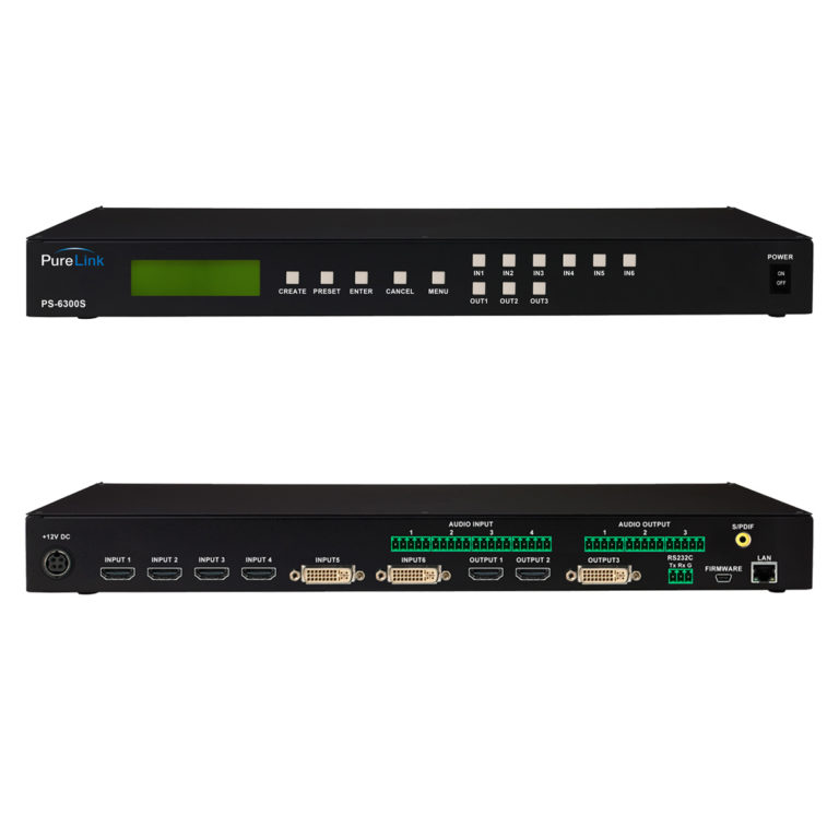 Pure link PS6300S