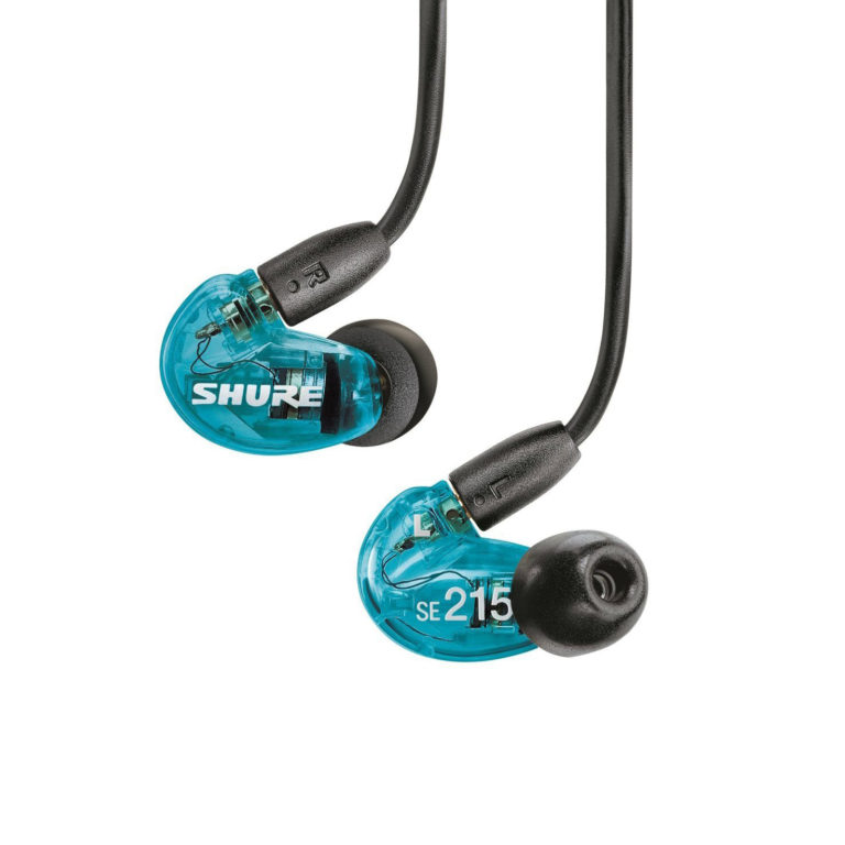 Shure SE215-SPE-B-UNI-EFS