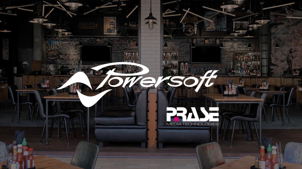 Prase distribuisce Powersoft